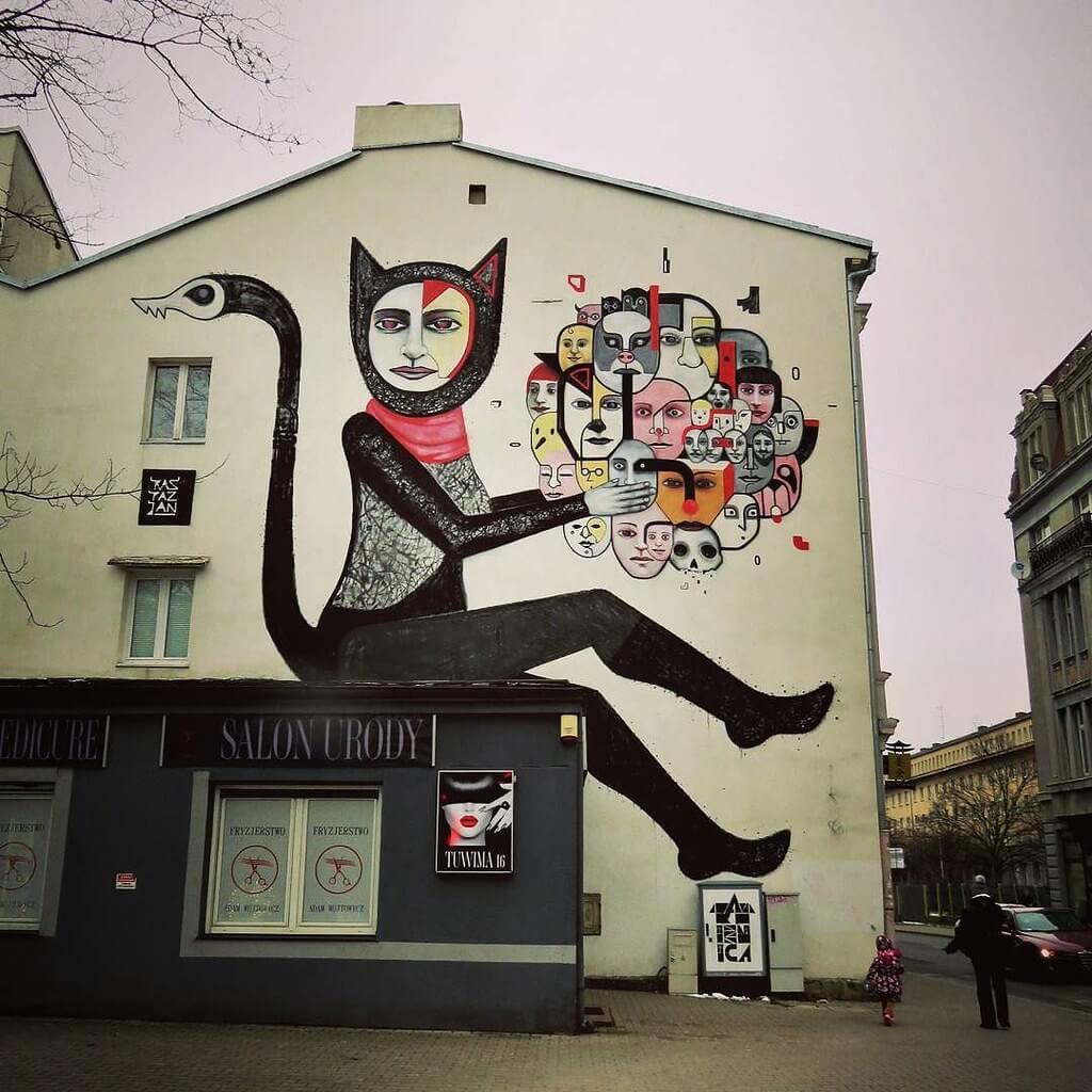 art urbain dans la ville de nice street art