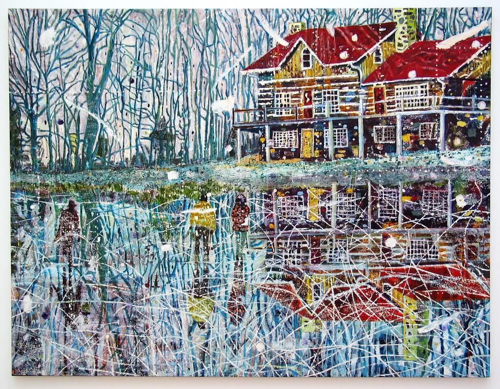 Les oeuvres de Peter Doig