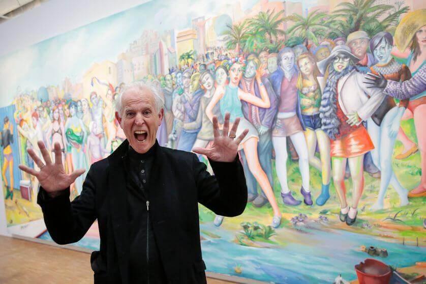 Martial Raysse artiste contemporain