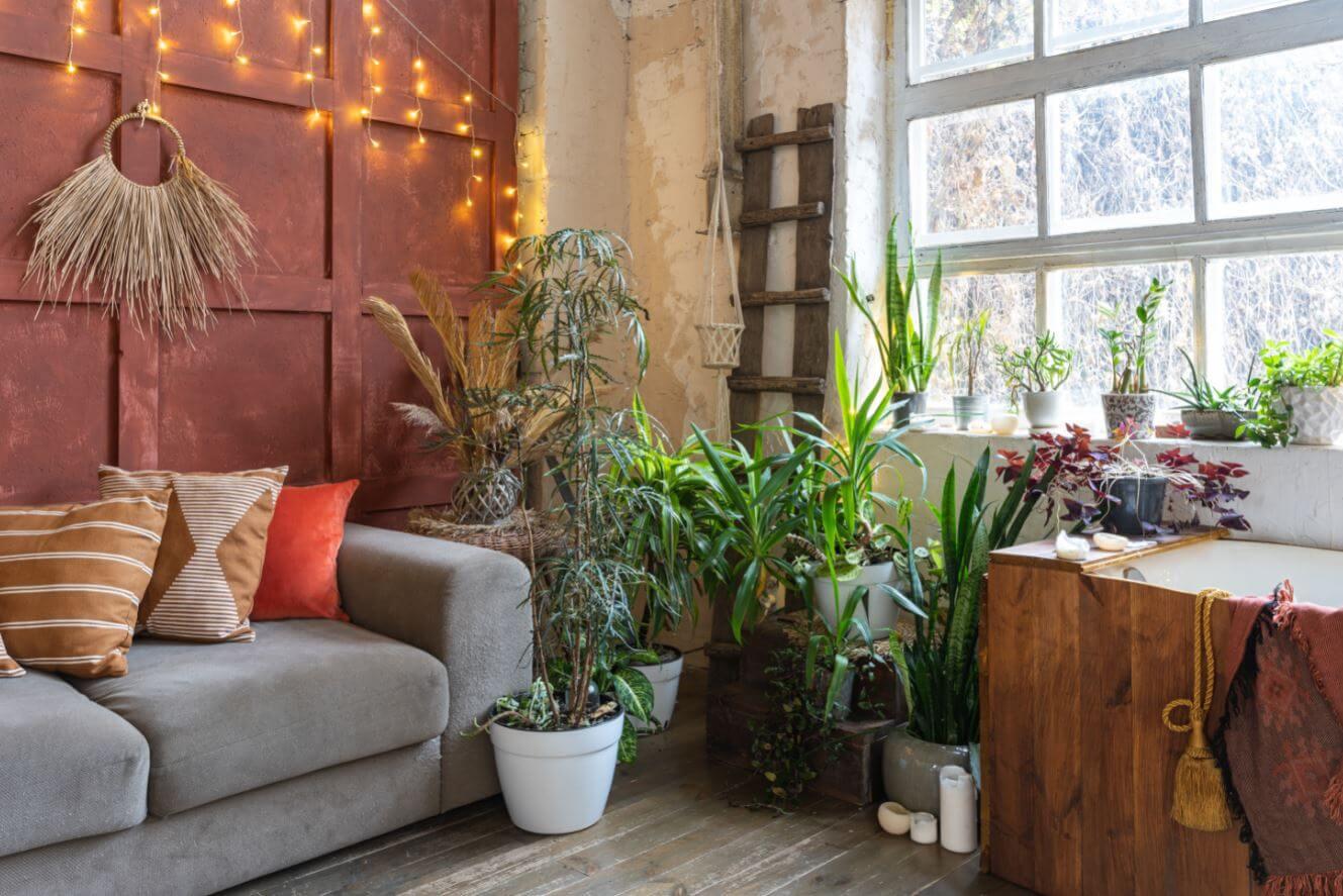 decoration meuble art boheme