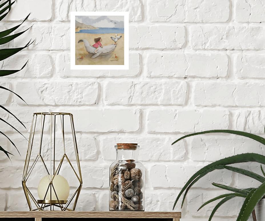 image carré d'artistes aquarelle