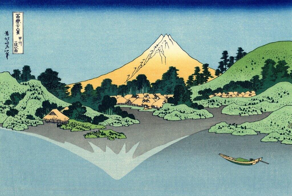 thirty six views of mount fuji