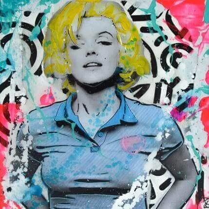 pop art marylin monroe tableaux pop art