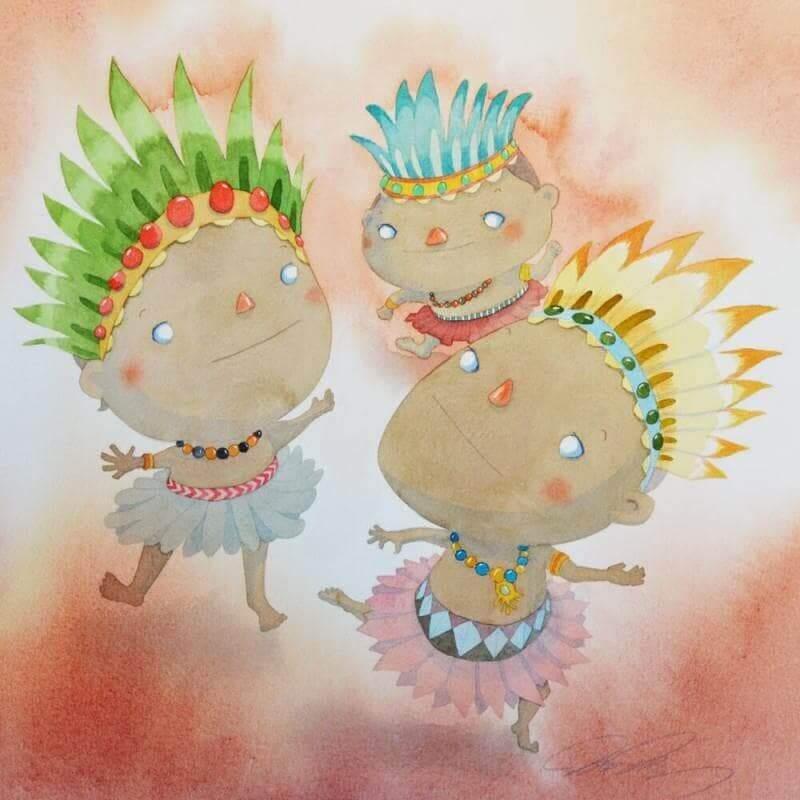 oeuvres art pour enfant 2