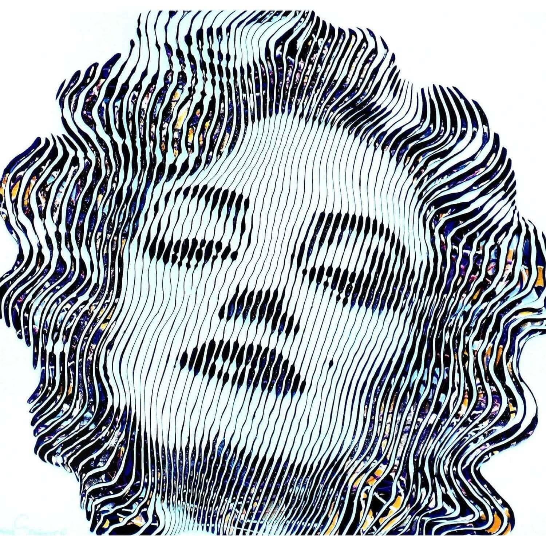 virginie Schroeder tableaux pop art marlyn monroe