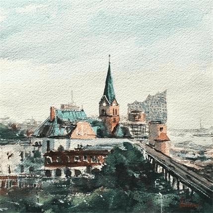 Tihomir Cirkvencic Hambourg view 4 25 x 25 cm