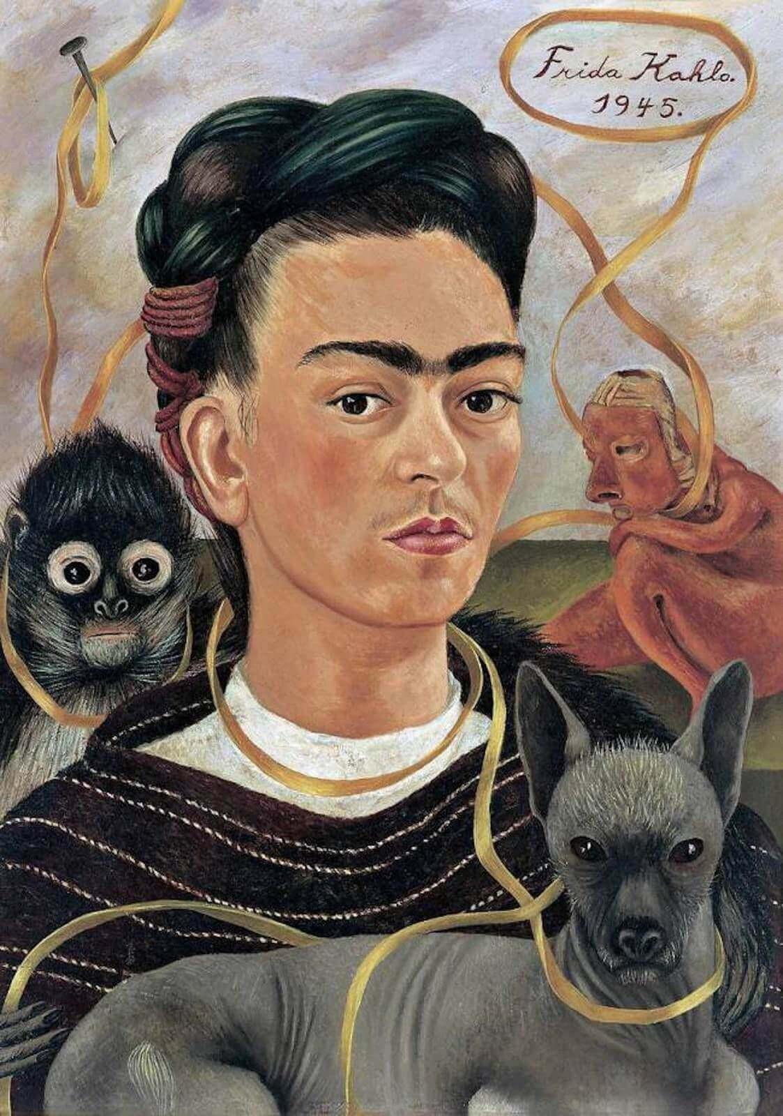 autoportrait de frida kahlo