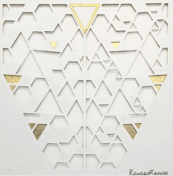 oeuvre d'art contemporain de ramses